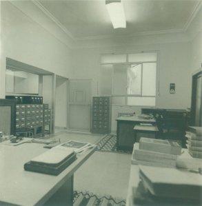 Despacho biblioteca española de Tánger